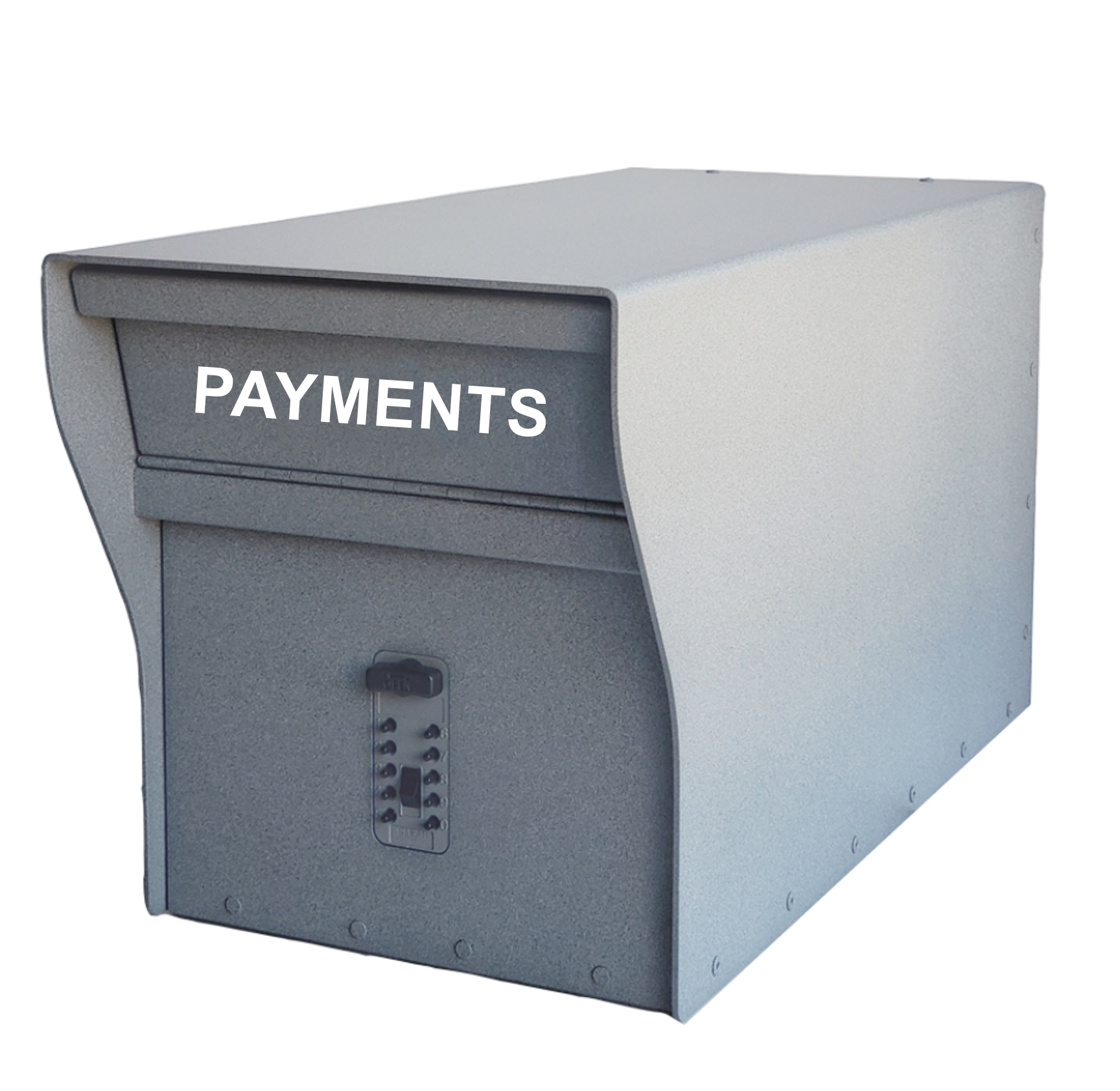 Secure outdoor payment dropbox